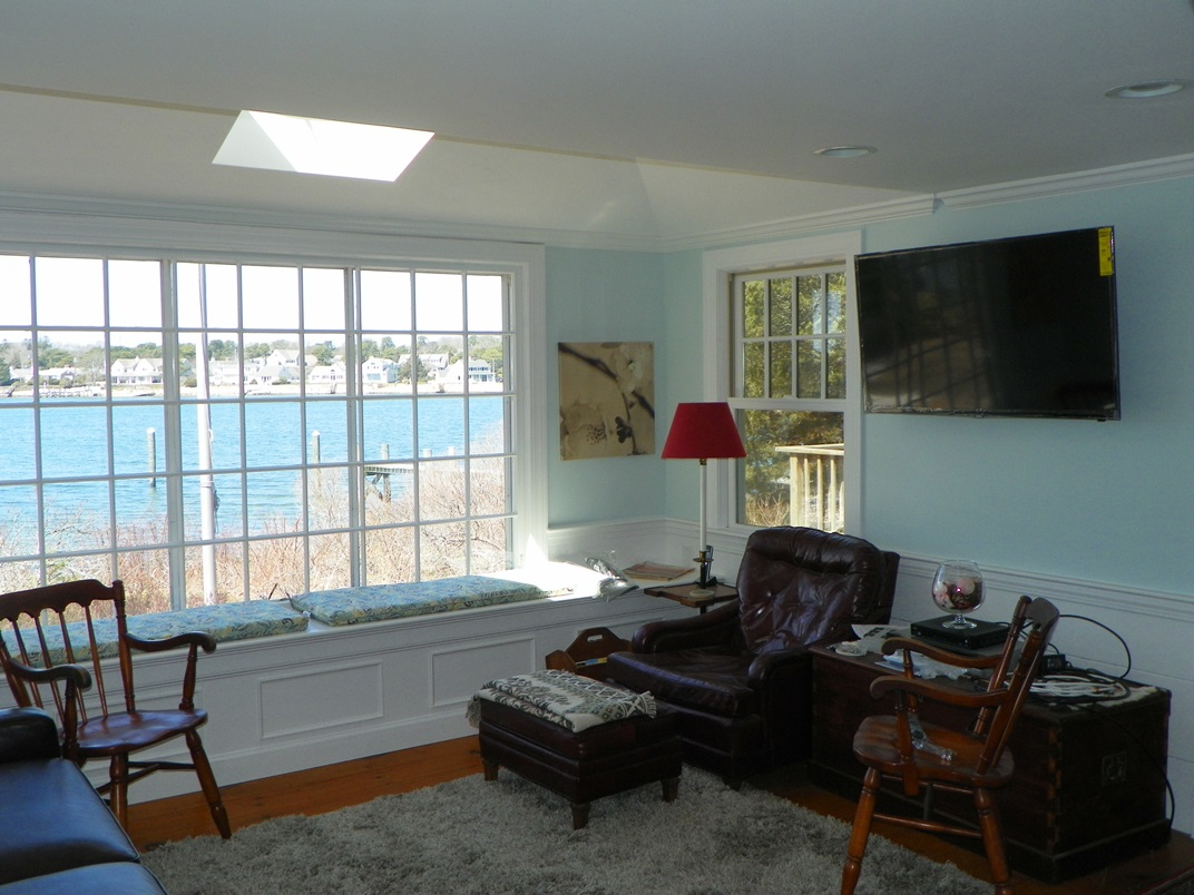 First floor Family Room at 101 Farm Lane, South Dennis, MA 02660