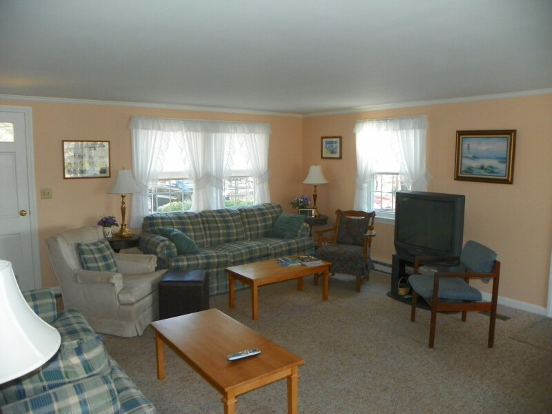 Living Room at 13 Sachem Village Road, West Dennis, MA 02670