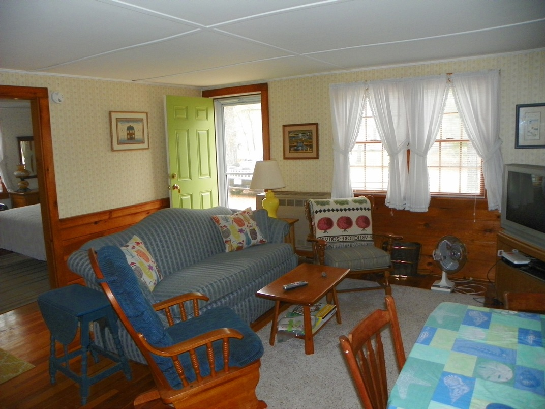 Living Room at 16 Regan Rd., West Denns, MA 02670 - Vacation Rentals by Cranberry Real Estate 508-394-1700