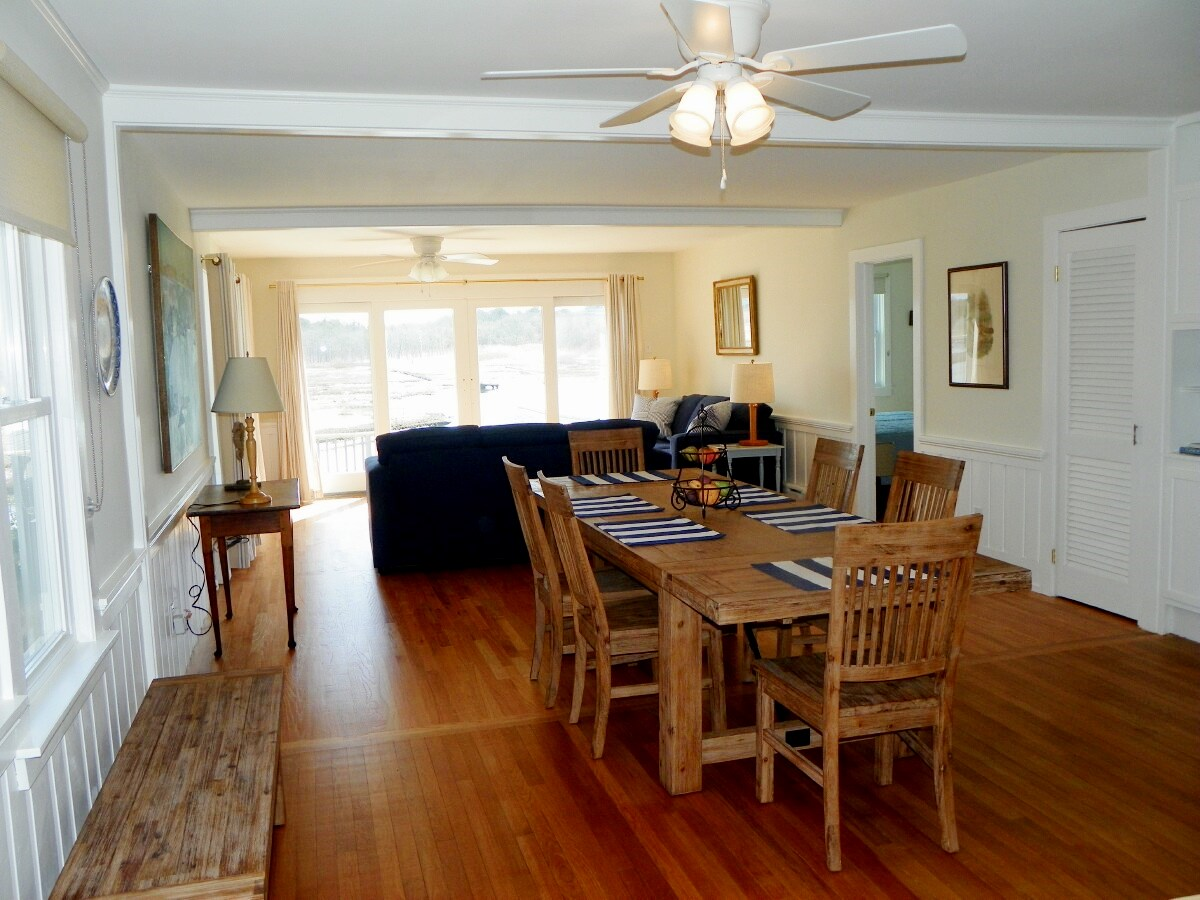 Dining area at 3 Barnacle Way in South Dennis, MA 02660