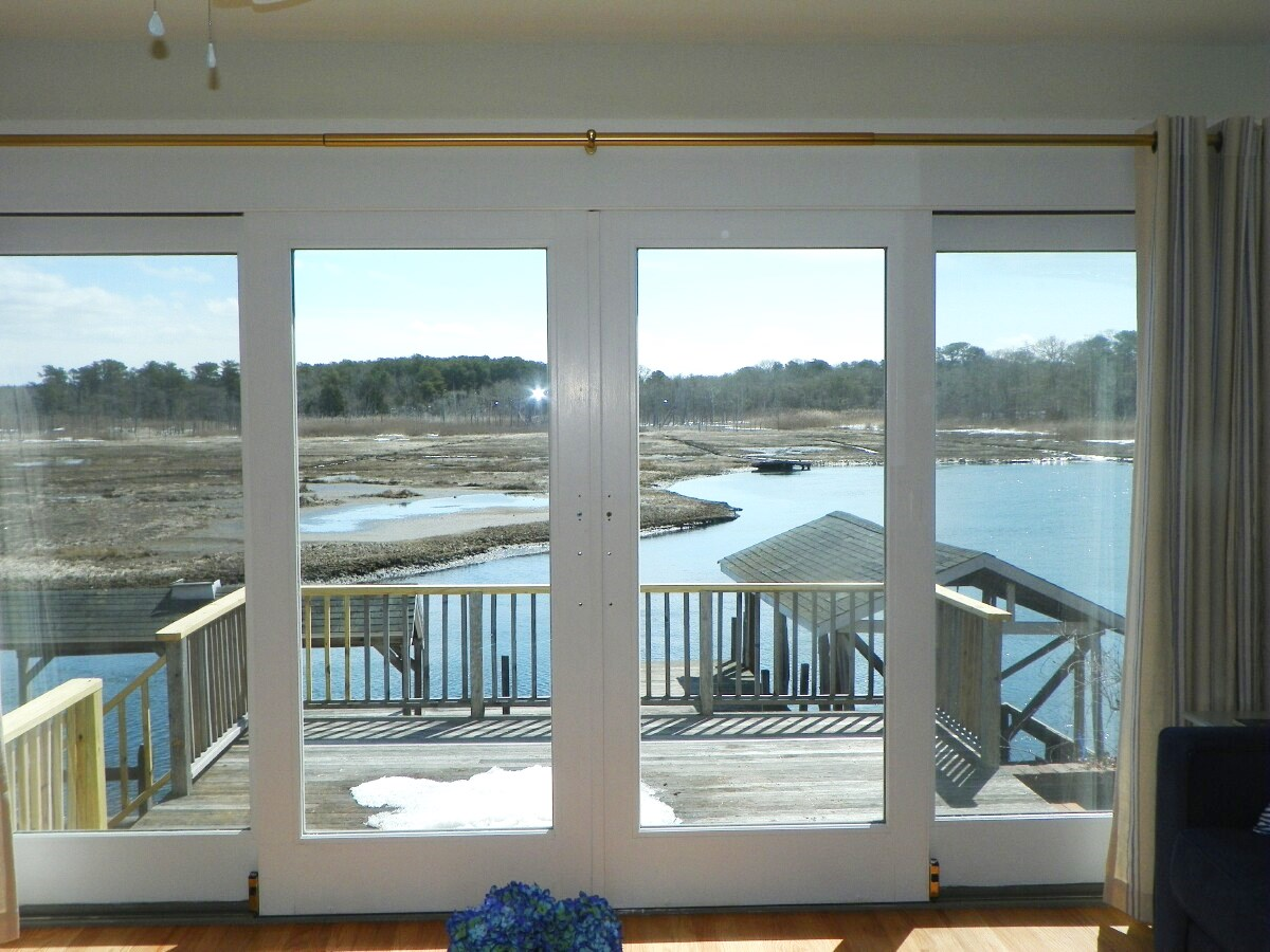 View from dining area at 3 Barnacle Way in South Dennis, MA 02660