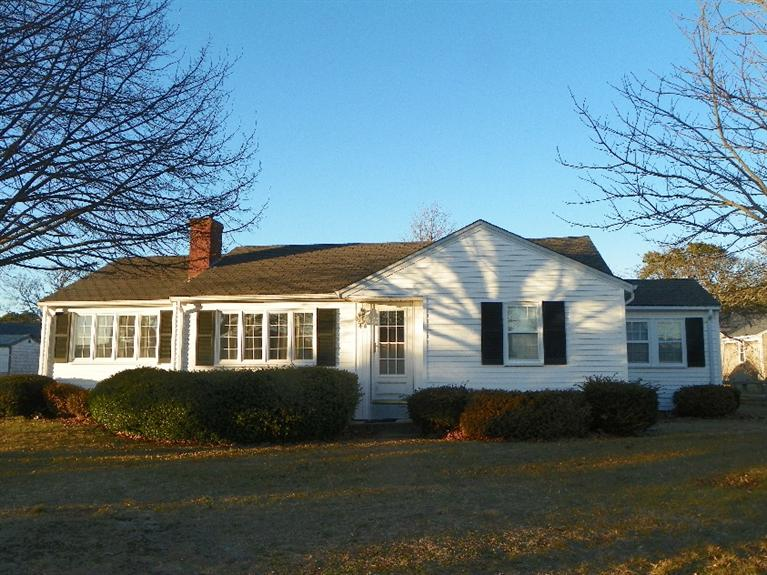 Front of 44 Shore Rd., West Dennis, MA for sale by Cranberry Real Estate 508-394-1700