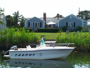 Dock at 6 Captain Keavy Way, West Dennis, MA for sale by Cranberry Real Estate 508-394-1700