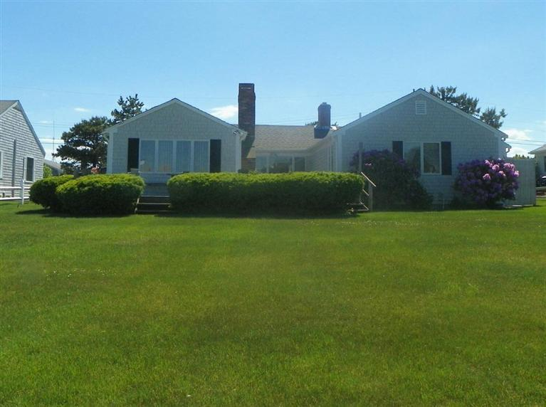 Backyard at 6 Captain Keavy Way, West Dennis, MA for sale by Cranberry Real Estate 508-394-1700