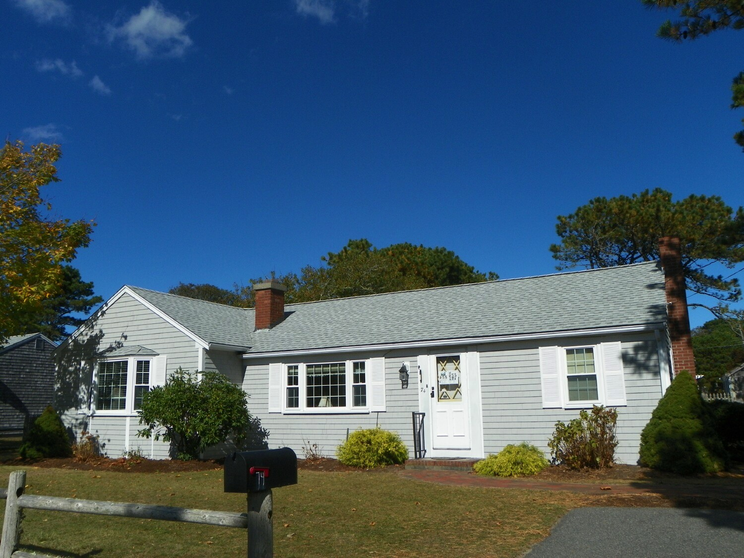Front of 74 Surfside Rd., West Dennis, MA for sale by Cranberry Real Estate 508-394-1700