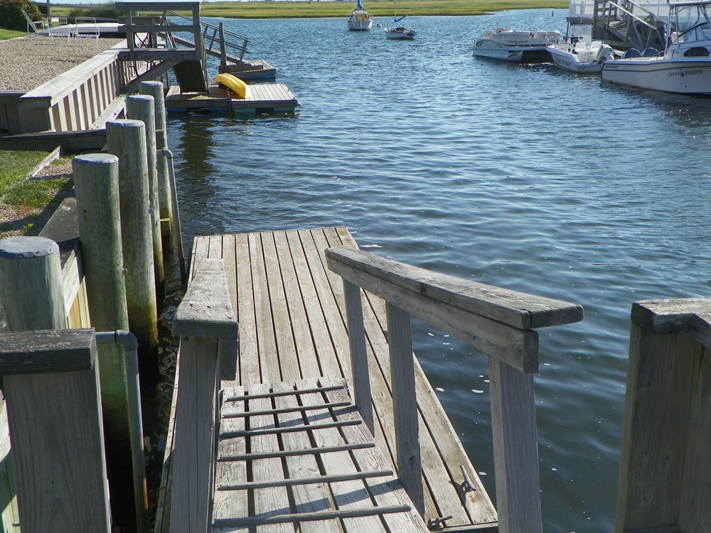 Dock at 7 Port Way, West Dennis, MA for sale by Cranberry Real Estate 508-394-1700