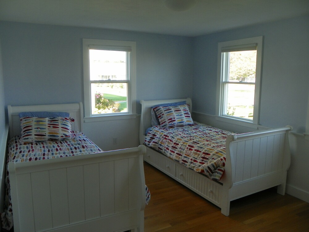 Twin Bedroom at 7 Port Way, West Dennis, MA for sale by Cranberry Real Estate 508-394-1700